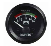 DURITE 52mm Battery condition voltmeter , 12 or 24volt